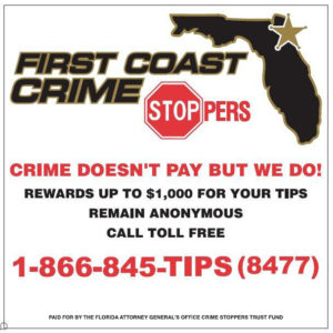 Crime Stoppers Ad with Logo and Numbers 2016