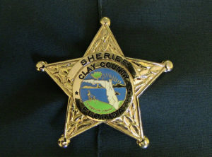 Clay County Sheriff's Office badge