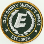 Clay County Sheriff's Explorer patch