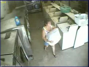 Jersey theft Woman