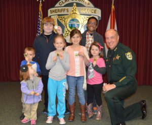 Beseler with Kids and Badges