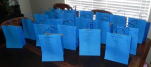Goodie Bags for Deputies from Savvy