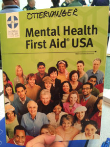 Mental Health First Aide Training