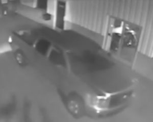 Cycle Shopt Theft Suspect Truck