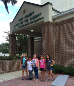 Girl scout tour