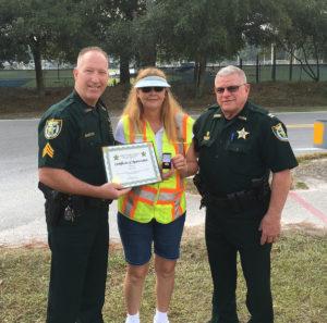 25 Year Crossing Guard Eileen Elster