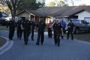 sheriffs walking