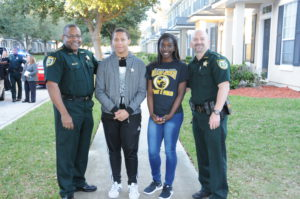 Clay County Sheriff's Office Neighborhood Walk