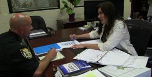Finance CFO at Desk