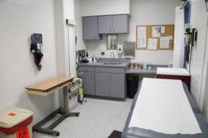 Infirmary room
