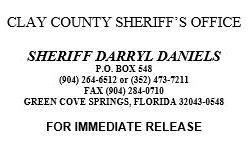 Clay county sheriff's office mail address