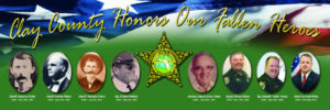 Clay Counties Honors Its Fallen Heroes Banner