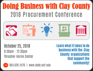 Doing Business with Clay County