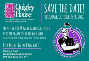 Quigley House, Save the date!