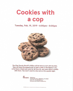 cookies with a cop