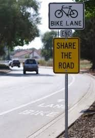 Bike Lanes, Share the Road