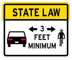 Florida State Law - 3 Feet Minimum
