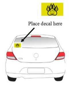 C.A.T. Decal Placement Guide