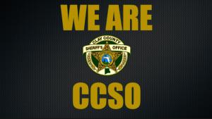 WE ARE CCSO