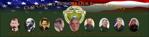 Clay County Honors our fallen heroes