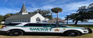 Sheriff Clay County car