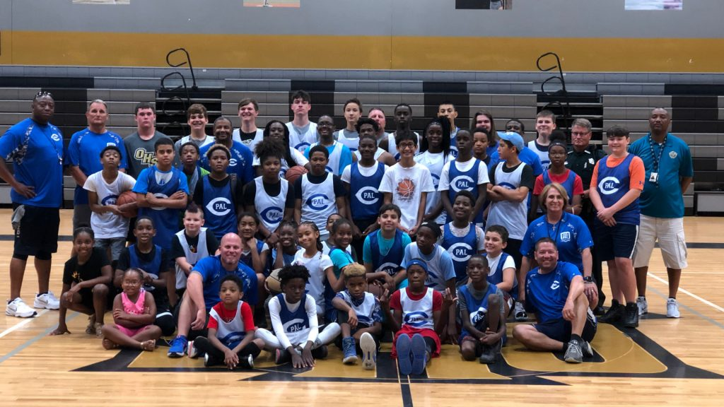 Basketball Players and coaches