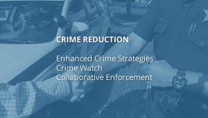 Crime reduction, enhanced crime strategies, crime watch, colla