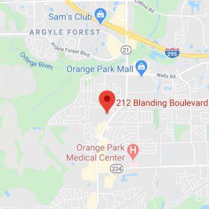 orange park operations center map