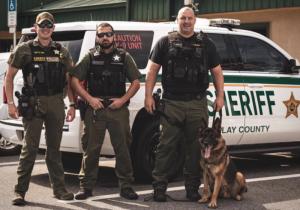 CCSO deputies and K9