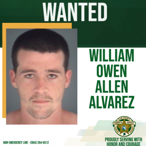 Wanted posted of William Alvarez