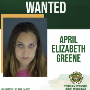 Photo of April Greene, a wanted individual