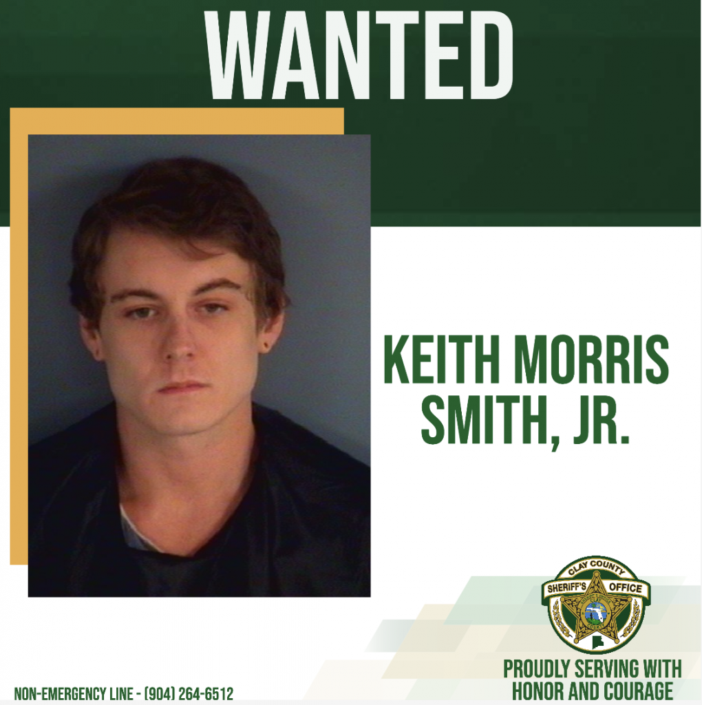 Keith Morris Smith, Jr. wanted poster
