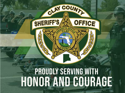 CCSO logo with green background and words