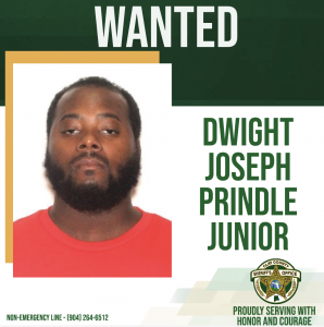 wanted posted of Dwight Prindle