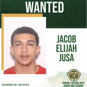 Wanted posted of Jacob Jusa