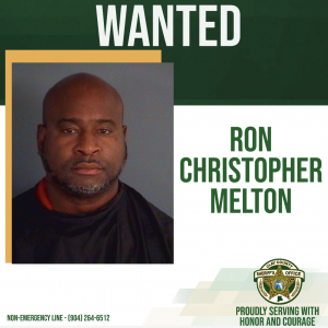 Wanted poster of Ron Melton