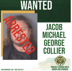 Wanted poster of Jacob Collier