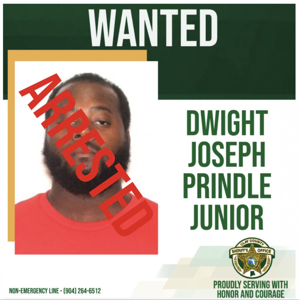 Wanted poster of Dwight Prindle, Jr.