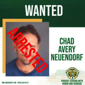 Arrested Photo of Chad Avery Neuendorf